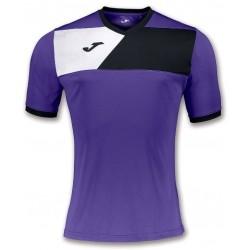 Футболка игровая Joma CREW II 100611.551 фиолетово-черная