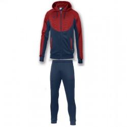 Спортивный костюм Joma ESSENTIAL 101019.306 т. синий с красным