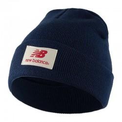 Шапка синяя New Balance H7768