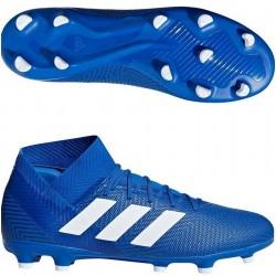Футбольные бутсы Бутсы Adidas Nemeziz 18.3 синие FG DB2109