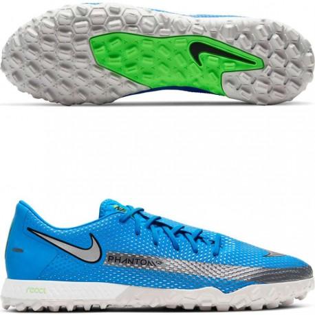 Футбольные сороконожки Nike React Phantom GT Pro TF CK8468-400