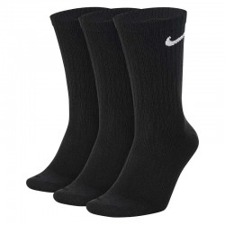 Носки Nike 3PPK Value Cotton Crew Black SX4508-001