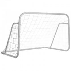 Ворота футбольные с сеткой FB-0482 2шт (120-80)